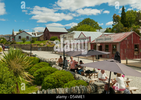 Old Cromwell Town, Cromwell, Otago, New Zealand - Stock Photo