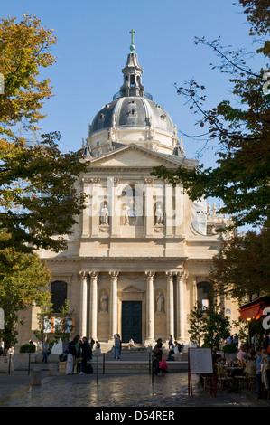 The Sorbonne, Paris, France - Stock Photo