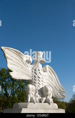 Vandsburg, Poland, memorial commemorates victims of World War II - Stock Photo
