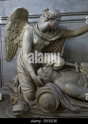 Saint Paul's Cathedral, London. Collingwood monument detail - Stock Photo