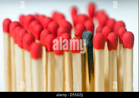 Berlin, Germany, symbol Photo: Burnout - Stock Photo