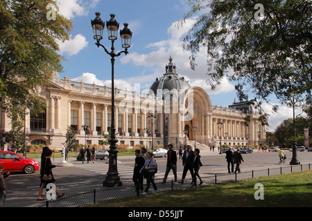 The Petit Palais (Small Palace) in Paris; Le Petit Palais in Paris - Stock Photo