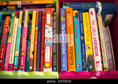 Children's Bookcase - Stock Photo