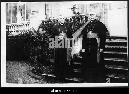 Visit of Cardinal Bourne to France - Stock Photo