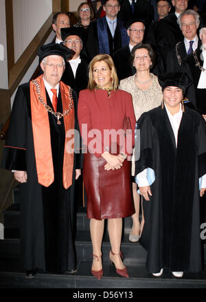 Princess Maxima of the Netherlands attends the inauguration of the new professor of the Prince Claus Chair 2009/2011 - Stock Photo