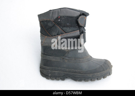 used winter boots - Stock Photo