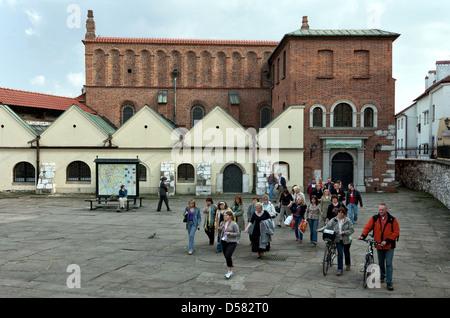 Krakow, Poland, the Old Synagogue in the Kazimierz district in Ulica Szeroka - Stock Photo