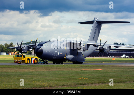 Airbus A400M Atlas military transport aircraft. - Stock Photo