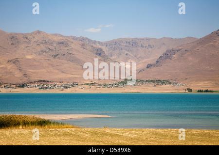 lake van, south-eastern anatolia, turkey, asia - Stock Photo