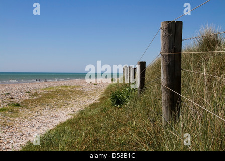 The West Beach in Littlehampton, West Sussex - Stock Photo