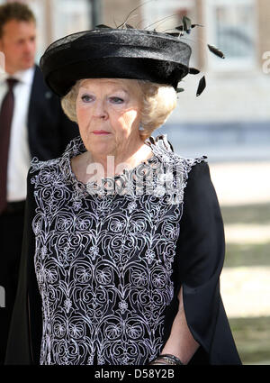 Queen Beatrix of the Netherlands attends the award ceremony of the Four Freedom Awards in Middelburg, the Netherlands, - Stock Photo