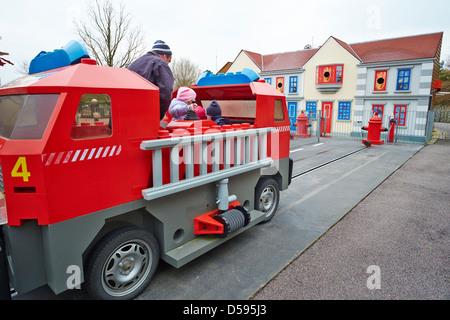 Fire Academy Legoland Windsor UK - Stock Photo