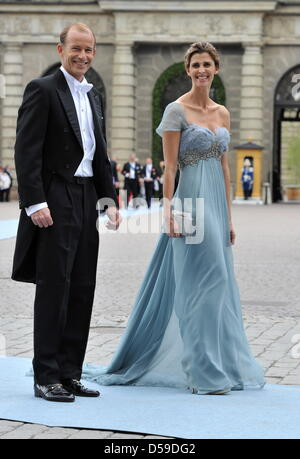 Prince Kyril of Bulgaria and Princess Rosario arrive for the silver ...