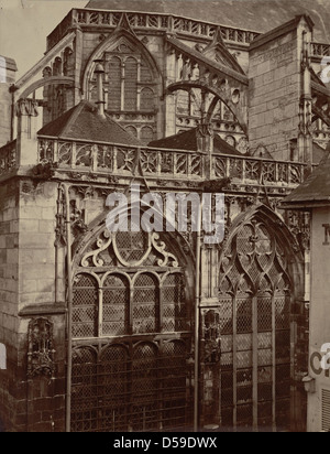Troyes. Église Saint-Jean - Stock Photo