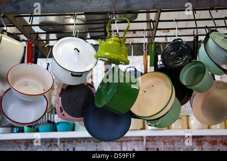 Kitchenalia Rental Shop at Old Biscuit Mill in Woodstock Cape Town - South Africa - Stock Photo