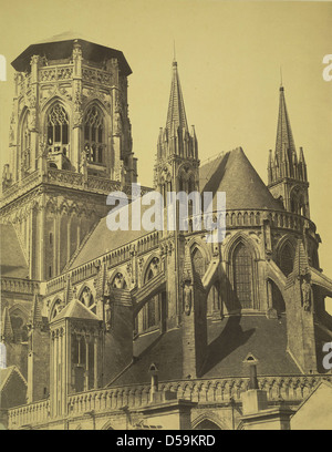 Notre Dame de Bayeux Cathedral - Stock Photo