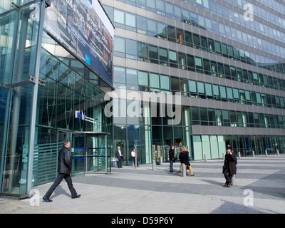 The charlemagne building brussels stock photo 72308821 alamy - European commission office ...