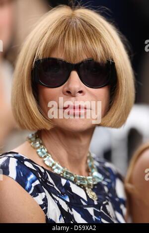 Anna Wintour Paris Fashion Week - Haute Couture