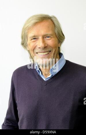 Der Schauspieler Horst Janson (* 4. Oktober 1935  in Mainz-Kastel)  aufgenommen am 30.05.2010 in Köln   Foto: Horst - Stock Photo