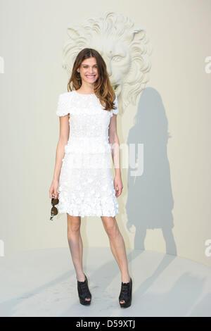 Chanel Haute Couture Spring Summer Model Ines de la ...