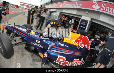 Rennfahrer Vettel