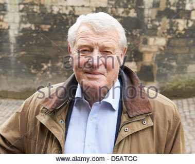 Paddy Ashdown former leader The Liberal Democrats Christchurch College Oxford Literary Festival Oxford Culture Arts - Stock Photo