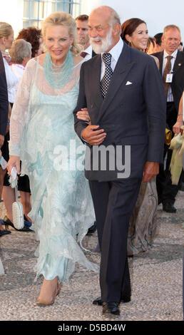 Their Royal Highnesses Prince and Princess Michael of Kent arrive ...