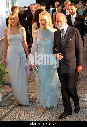 Lady Gabriella Windsor and Prince Michael of Kent and Princess Stock ...