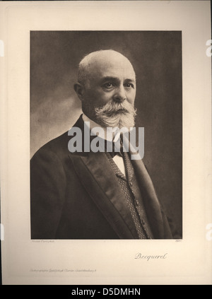 Portrait of Antoine-Henri Becquerel (1852-1908), Physicist - Stock Photo