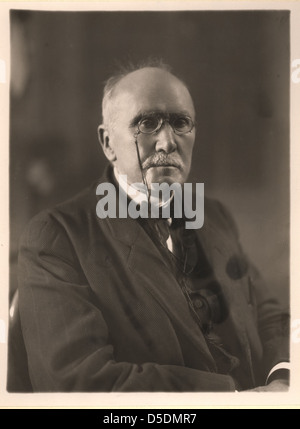 Portrait of Edouard Branly (1844-1940), Physicist - Stock Photo