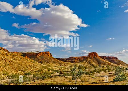 Australia, Western Australia, Kimberley, Great Northern Highway near Fitzroy Crossing - Stock Photo