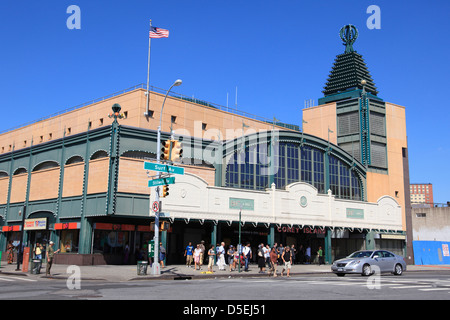 Stillwell Avenue Subway Station, Coney Island, Brooklyn, New York City, USA - Stock Photo