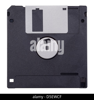 Computer floppy disc 3 1/2 inch - Stock Photo