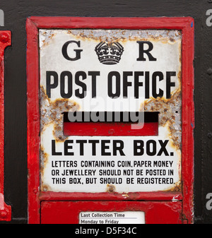 Old Style Post Box - Stock Photo