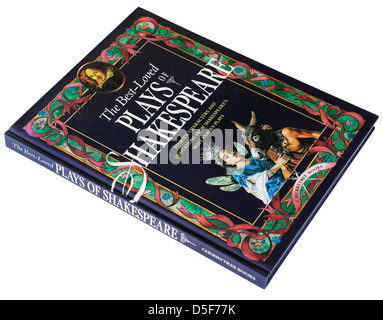 The Best Loved Plays of Shakespeare, an illustrated guide book to Shakespeare's famous plays - Stock Photo