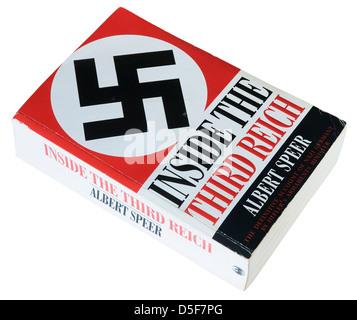 Inside the Third Reich by Albert Speer - Stock Photo
