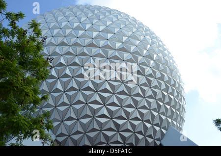 EPCOT Centre, Disneyworld, Orlando, Florida, USA - Stock Photo