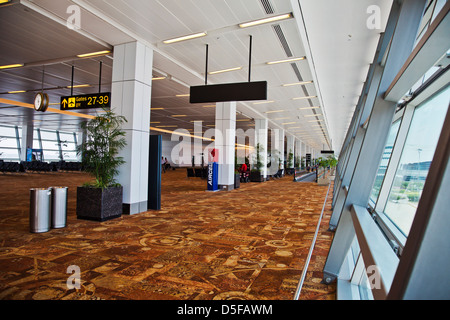 Interiors of Shimla Airport, Shimla, Himachal Pradesh, India - Stock Photo