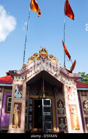 Jakhoo Temple at Jakhoo Hill, Shimla, Himachal Pradesh, India - Stock Photo