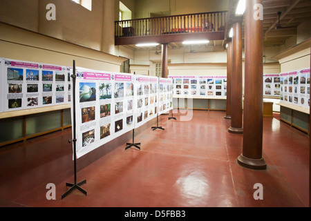 Interiors of a museum, Fort Museum, Fort St. George, Chennai, Tamil Nadu, India - Stock Photo