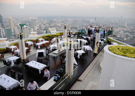Sirocco bar and restaurant, state tower - Stock Photo