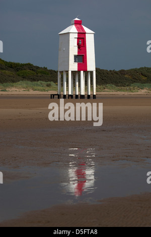 The Low Lighthouse Burnham on Sea - Stock Photo