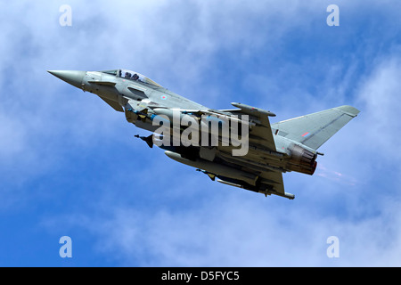 Built as an FGR.4, Royal Air Force Eurofighter Typhoon IPA5 ZJ700 has been modified as a weapons systems development - Stock Photo