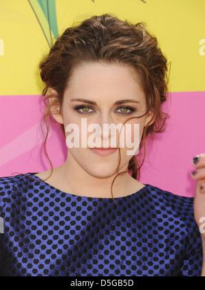 KRISTEN STEWART  US film and Tv actress in March 2013. Photo Jeffrey Mayer - Stock Photo