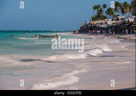 Dominican Republic, Punta Cana, Higuey, Bavaro Beach, Bavaro, market - Stock Photo