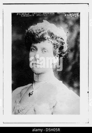 Princess Louise Auguste of Schleswig Holstein (LOC) - Stock Photo