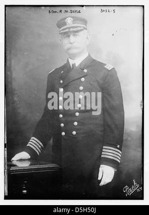 Adm. R.M. Doyle (LOC) - Stock Photo