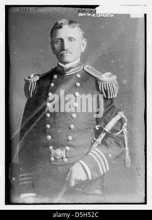 Adm. W.B. Caperton (LOC) - Stock Photo