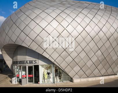 Debenhams department store in the Arc Shopping Centre, Bury St Edmunds, Suffolk - Stock Photo