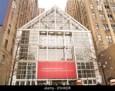New York Presbyterian hospital in NYC - Stock Photo